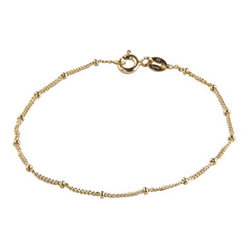 Nelly bracelet gold plated