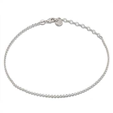 Anklet chain in Sterling silver