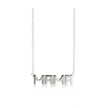 MAMA NECKLACE STERLING SILVER