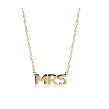 MRS NECKLACE GOLD