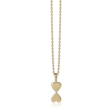 HEART TO HEART NECKLACE - GOLD
