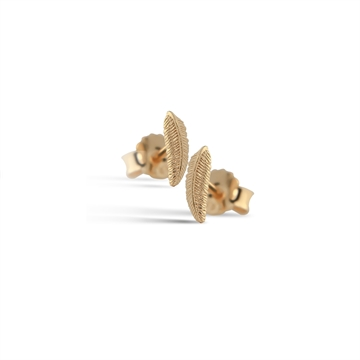 Mini FEATHER STUDS GOLD