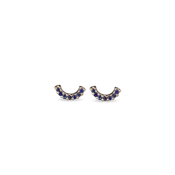 Happy Earrings with blue sapphires - JEBERG JEWELLERY