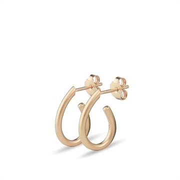 Graceful Earrings rose gold plated