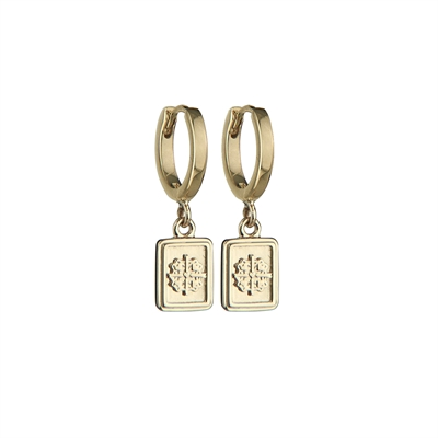 VINTAGE ENGRAVE EARRINGS