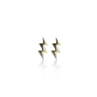 Lightning Bolt Ear Studs