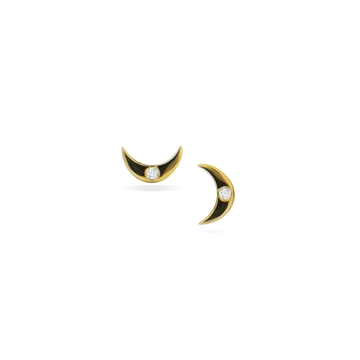 Mini Moon Ear Studs