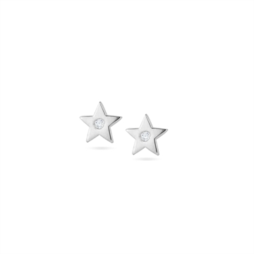 MINI STAR STUD SILVER