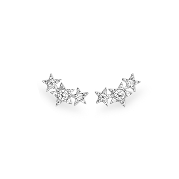 Triple Star Ear Studs