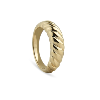 Twisted Dome Ring