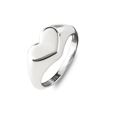 Heart to Heart Signet Ring