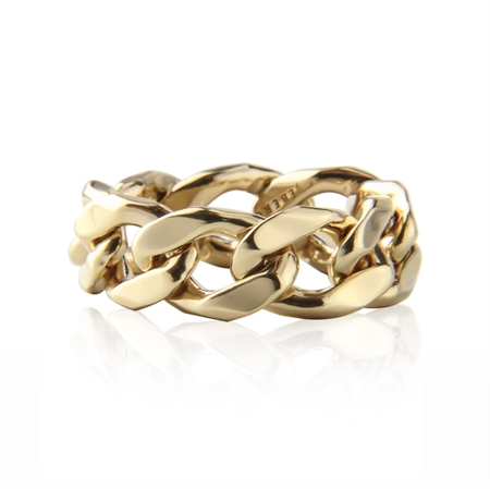 Chain Ring, gold