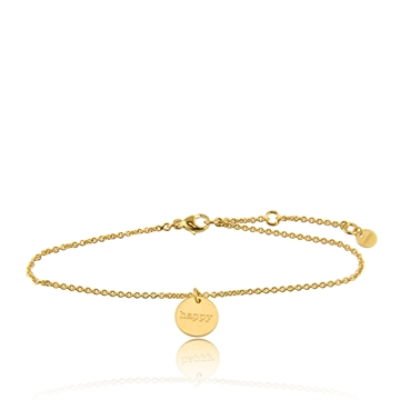 HAPPY BRACELET GOLD