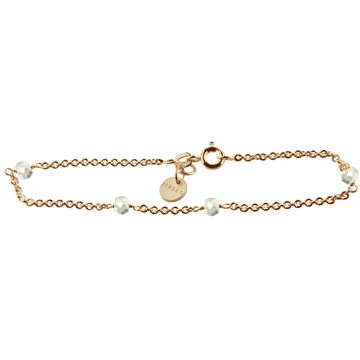 BRACELET, LOVE EYE, ZIRCONIA