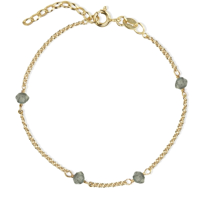 Love Eye Bracelet - Labradorite
