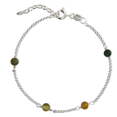 Love Eye Bracelet - Green Mix