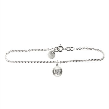 Over the Moon Heart Bracelet