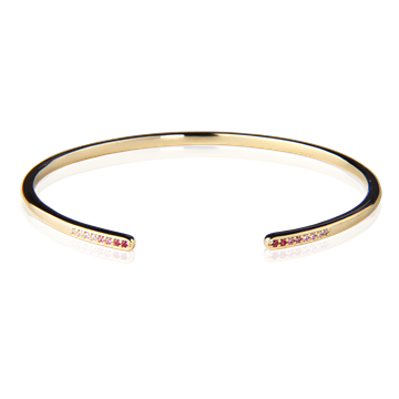 Candy Crush Bangle Gold Plated