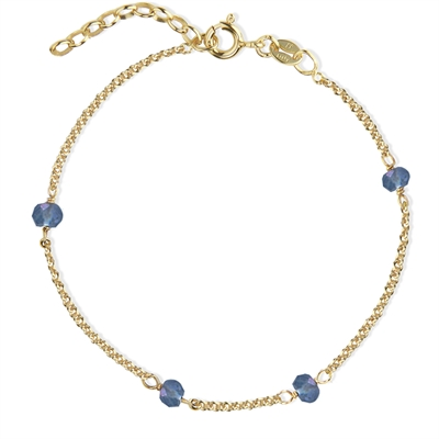 Love Eye Bracelet - Clear Blue