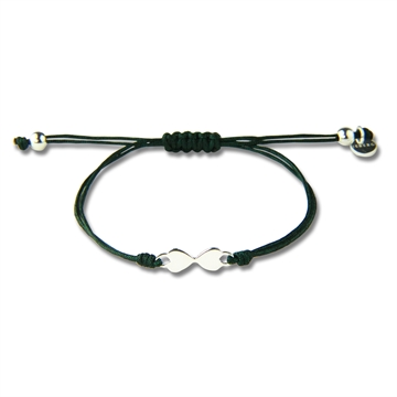 HEART TO HEART BRACELET DARK GREEN